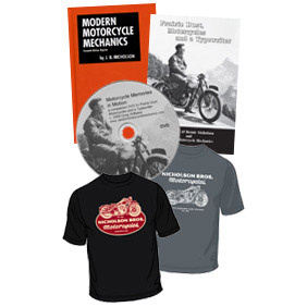 Nicholson Bros. Motorcycles Short Sleeve Package