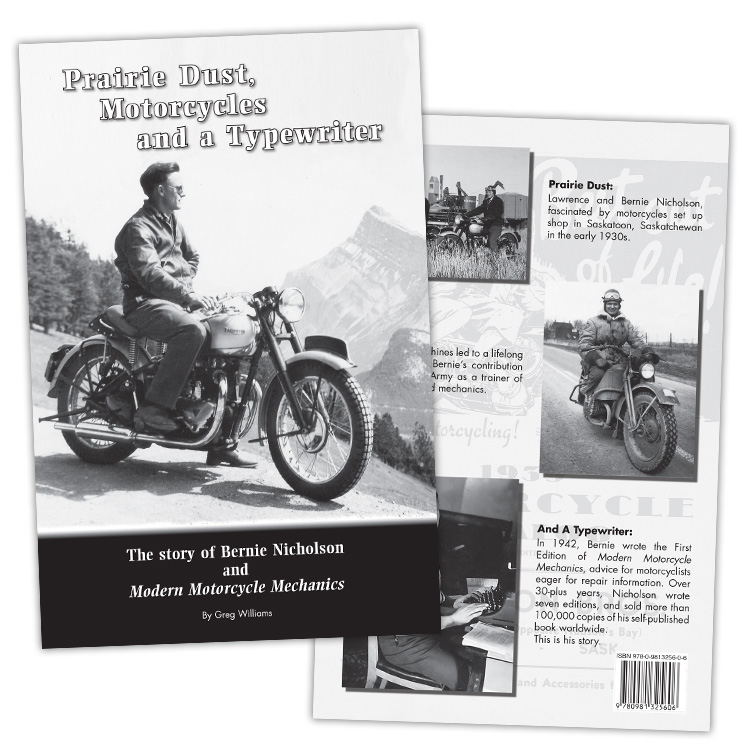 Prairie Dust, Motorcycles And A Typewriter