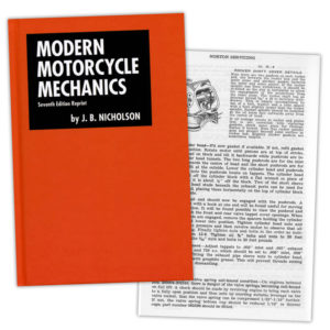 Modern Motorcycle Mechanics – Seventh Edition