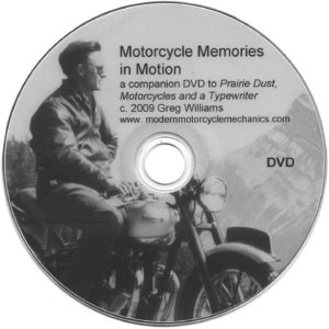 Motorcycle Memories In Motion DVD