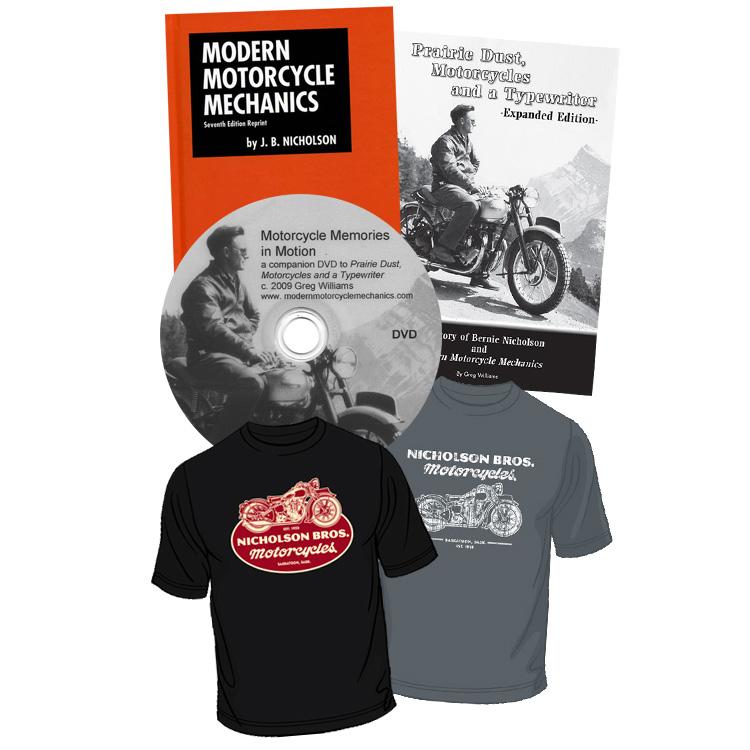 Nicholson Bros. Motorcycles Short Sleeve Package