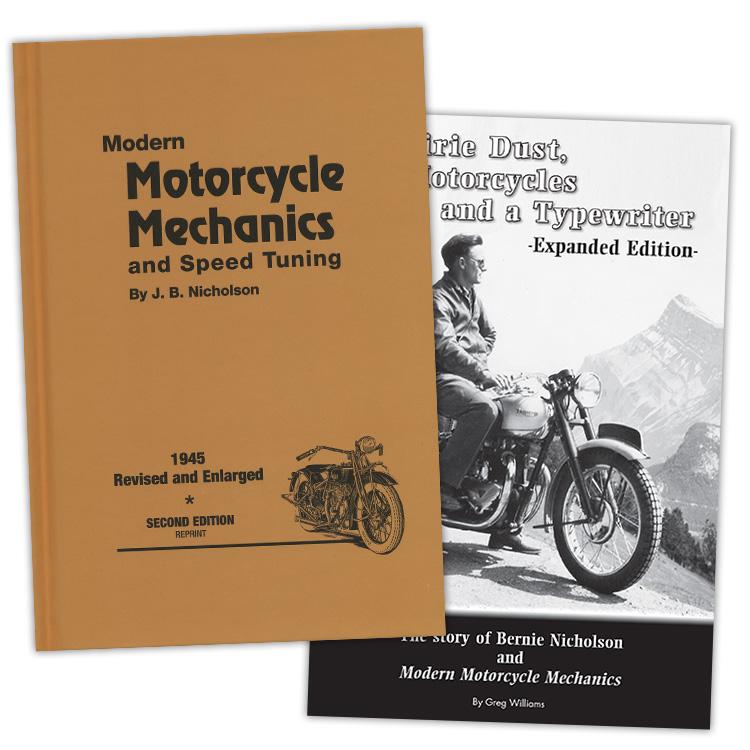 Modern Motorcycle Mechanics – Second Edition + Prairie Dust Package